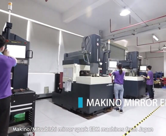 makino mirror edm equipment